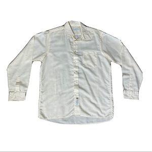 Christian Dior Men's Button Up Dress Shirt Top